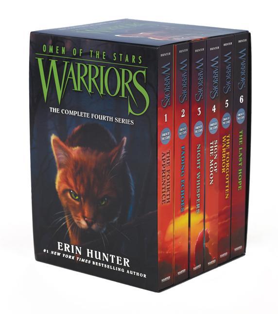 Warriors: Omen of the Stars Box Set: Volumes 1-6 als Taschenbuch von Erin Hunter