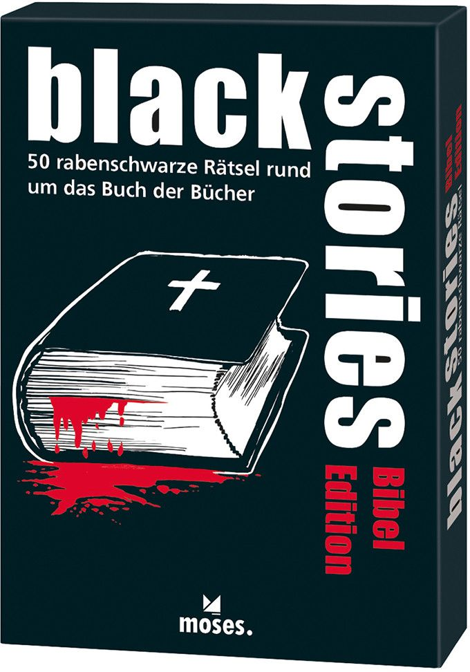 moses. - Black stories - Bibel Edition als Buch...