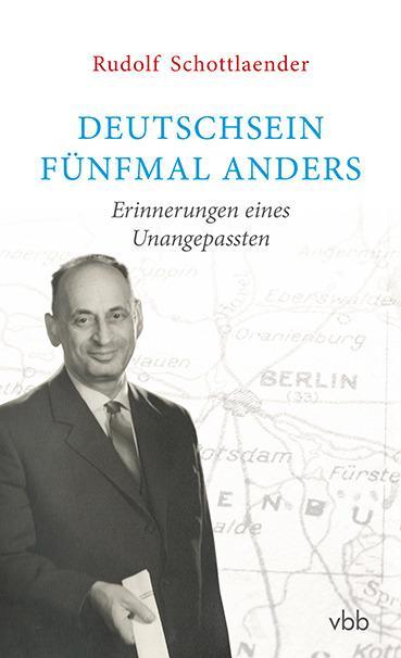 Deutschsein fünfmal anders als Buch