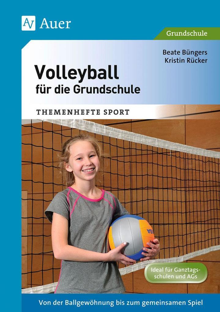 Volleyball für die Grundschule als Buch