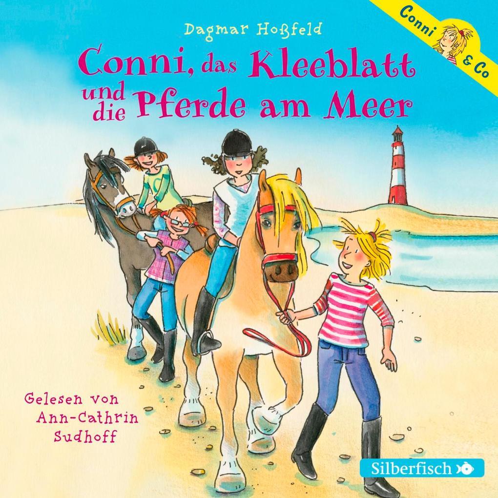 Conni, das Kleeblatt und die Pferde am Meer als Hörbuch Download