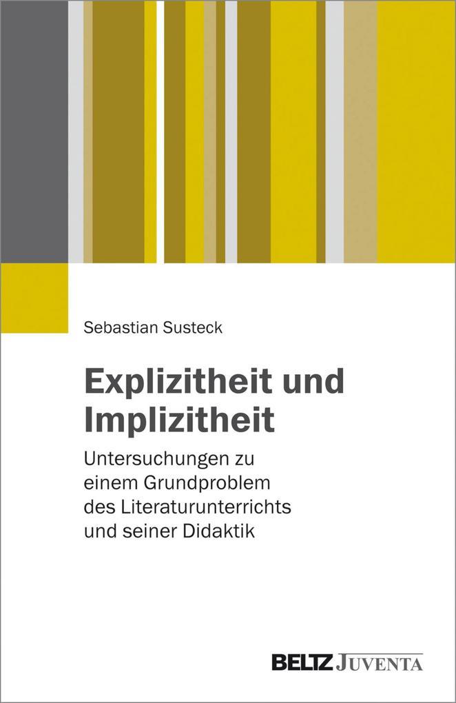 Explizitheit und Implizitheit als eBook pdf