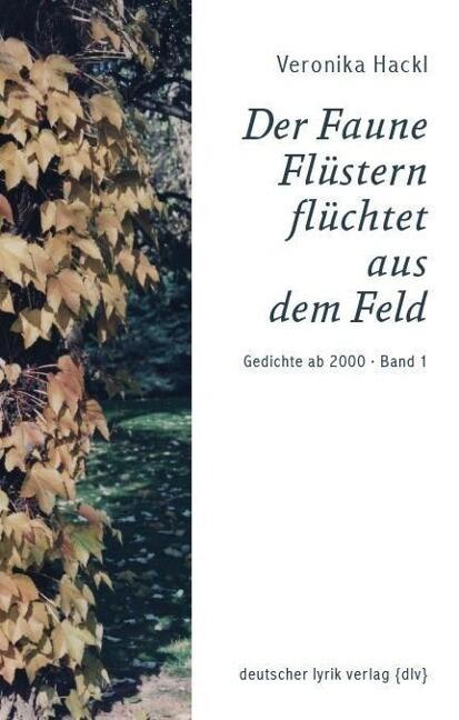 Der Faune Flüstern flüchtet aus dem Feld als Buch