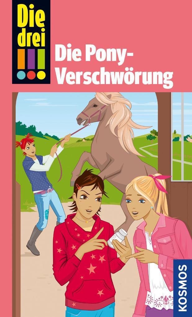 Die drei !!!, Die Pony-Verschwörung (drei Ausrufezeichen) als eBook