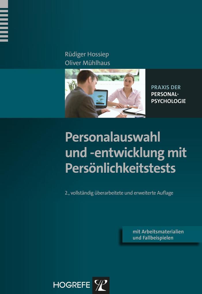Personalauswahl und -entwicklung mit Persönlichkeitstests als eBook