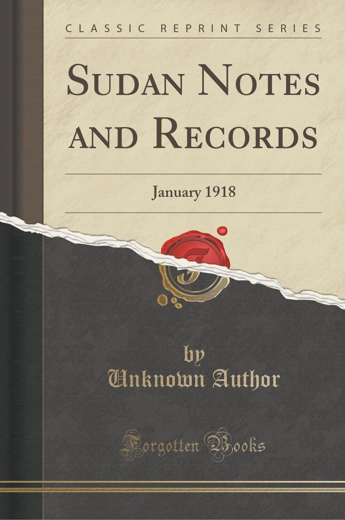 Sudan Notes and Records
