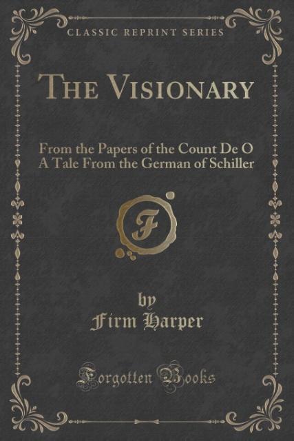 The Visionary als Taschenbuch von Firm Harper