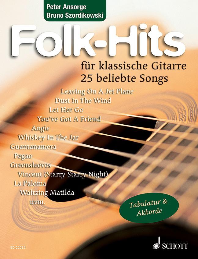Folk-Hits für Gitarre