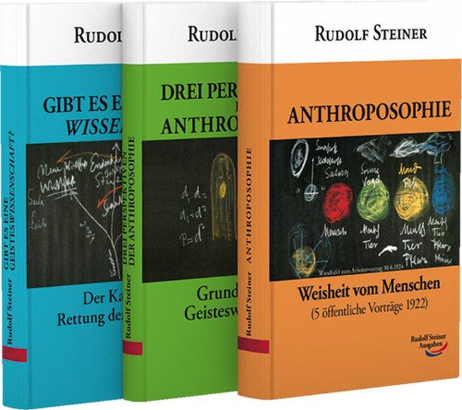 Anthroposophie - Die drei Perspektiven der Anthroposophie - Gibt es eine Geisteswissenschaft. 3 Taschenbücher ( Set) als