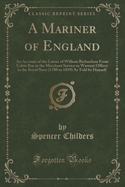 A Mariner of England als Taschenbuch von Spence...