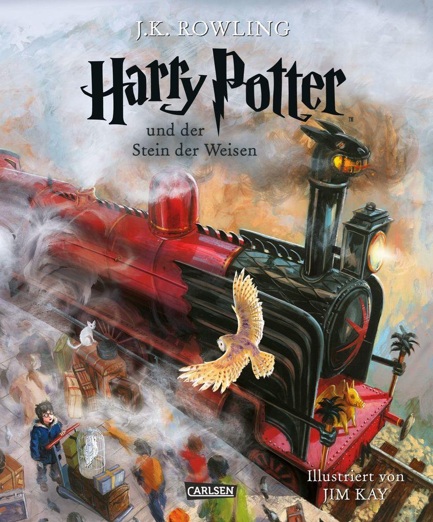 Harry Potter 1 und der Stein der Weisen. Schmuckausgabe als Buch