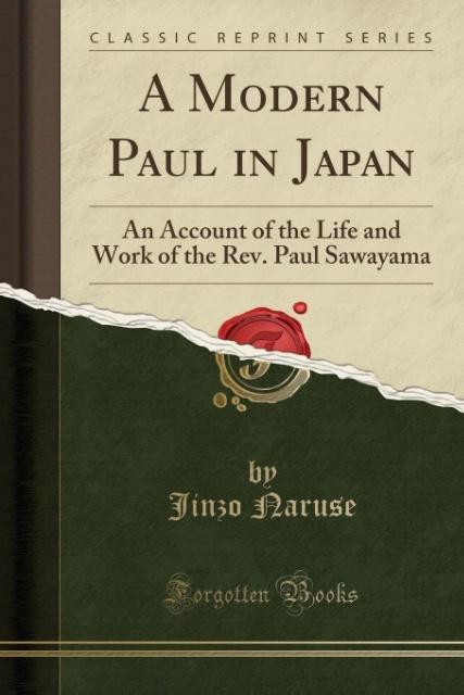 A Modern Paul in Japan als Taschenbuch von Jinz...