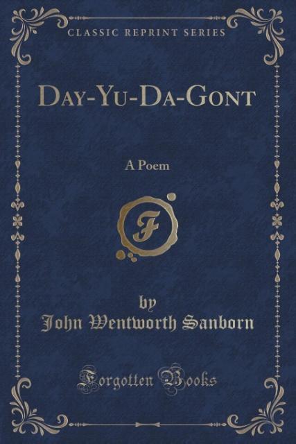 Day-Yu-Da-Gont als Taschenbuch von John Wentworth Sanborn