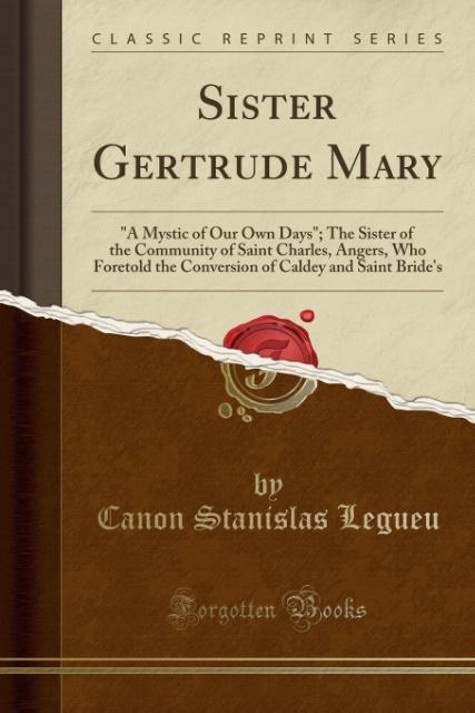 Sister Gertrude Mary als Taschenbuch von Canon ...