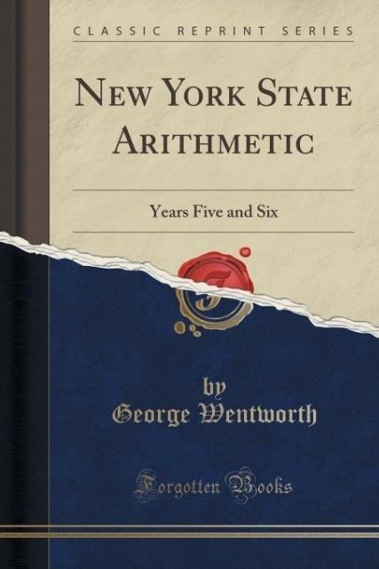 New York State Arithmetic als Taschenbuch von George Wentworth