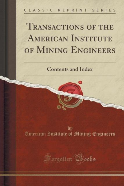 Transactions of the American Institute of Minin...