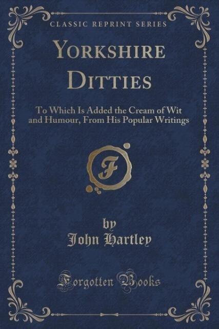 Yorkshire Ditties als Taschenbuch von John Hartley