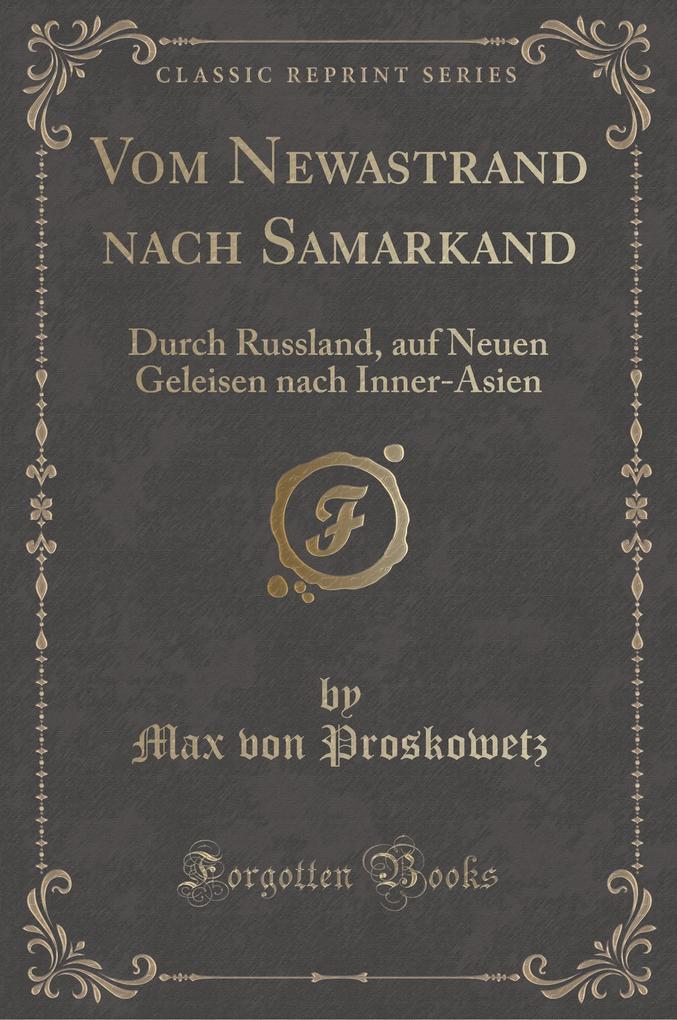 Vom Newastrand nach Samarkand