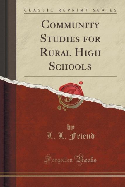 Community Studies for Rural High Schools (Class...