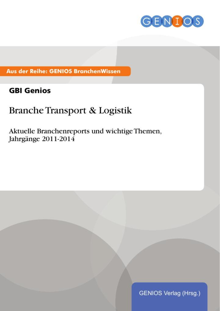 Branche Transport & Logistik als eBook