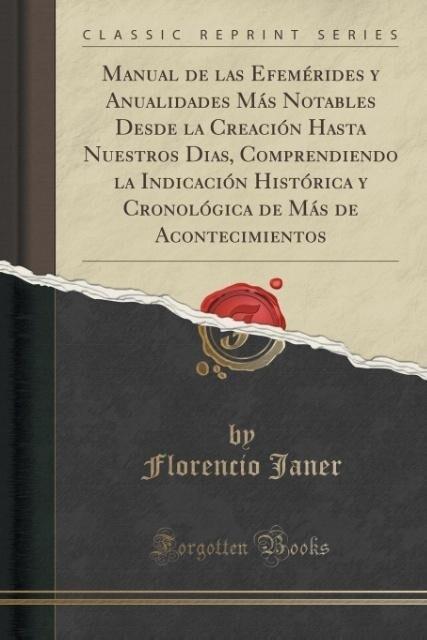 Manual de las Efemérides y Anualidades Más Nota...