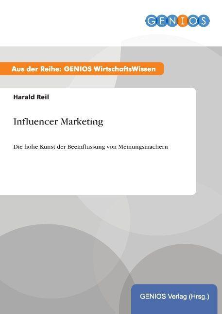 Influencer Marketing als Buch