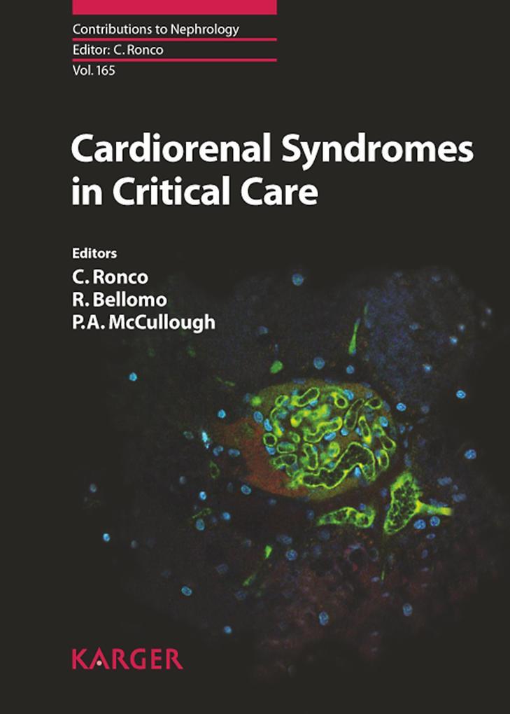 Cardiorenal Syndromes in Critical Care als eBook von