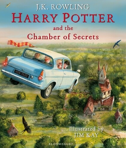 Harry Potter 2 and the Chamber of Secrets. Illustrated Edition als Buch von Joanne K. Rowling