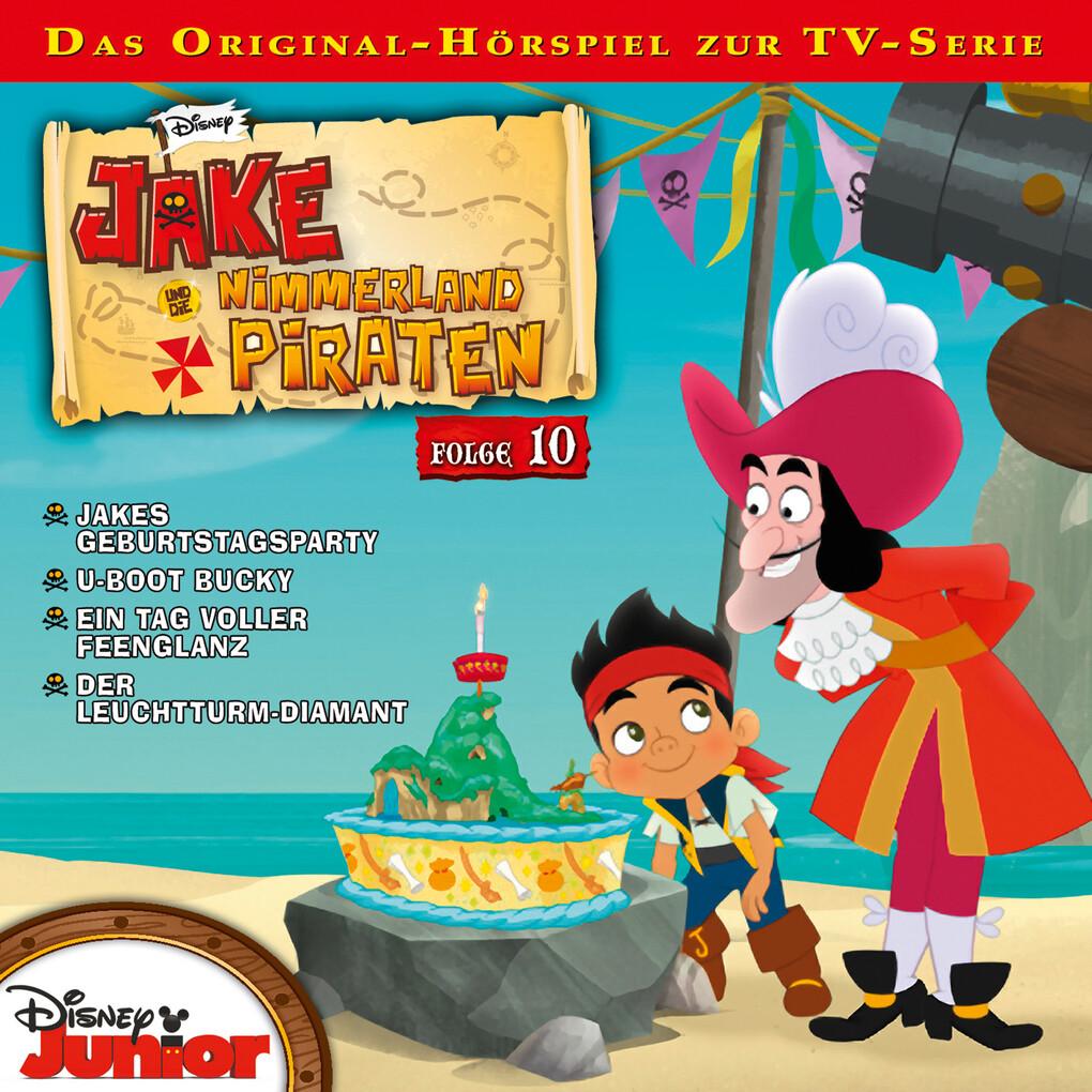 Disney - Jake und die Nimmerland Piraten - Folge 10 als Hörbuch Download