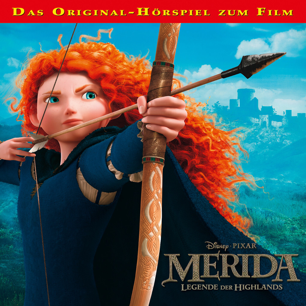 Disney - Merida - Legende der Highlands als Hörbuch Download