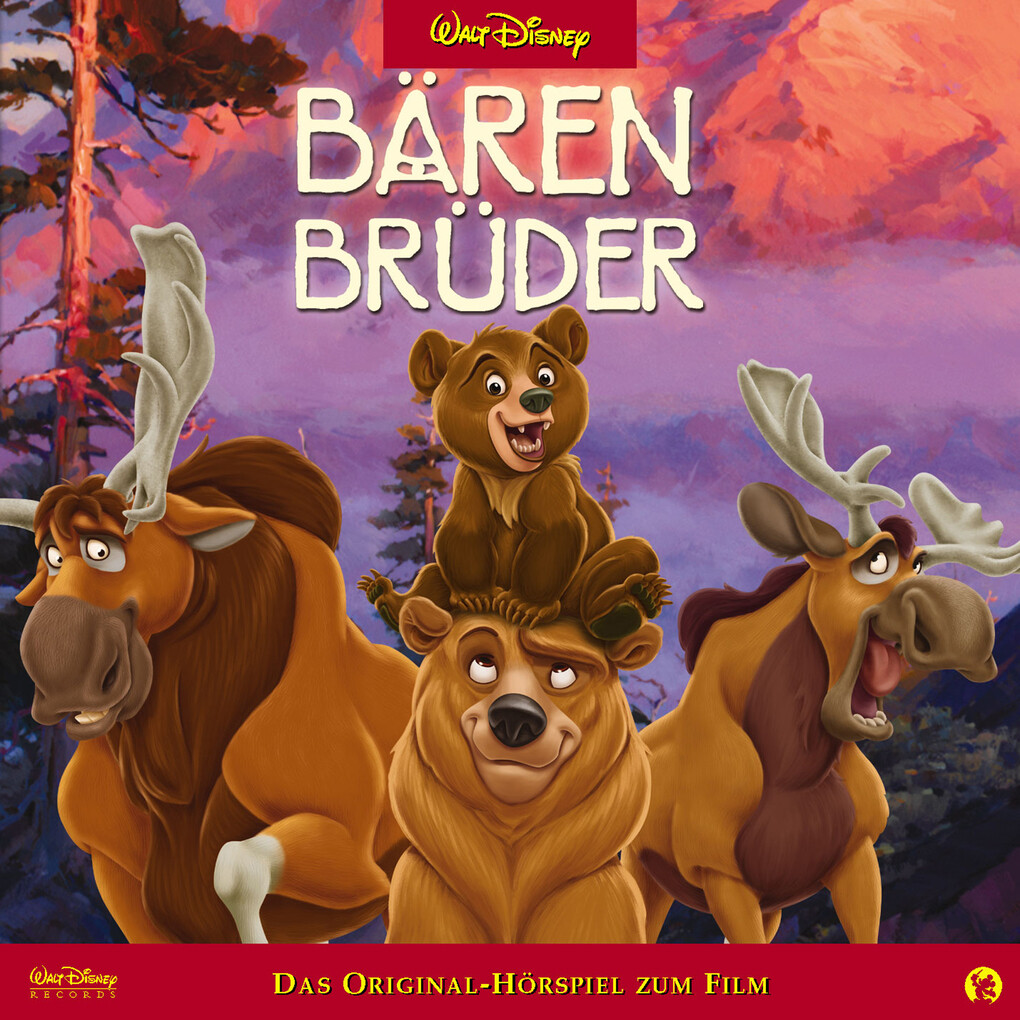 Disney - Bärenbrüder als Hörbuch Download
