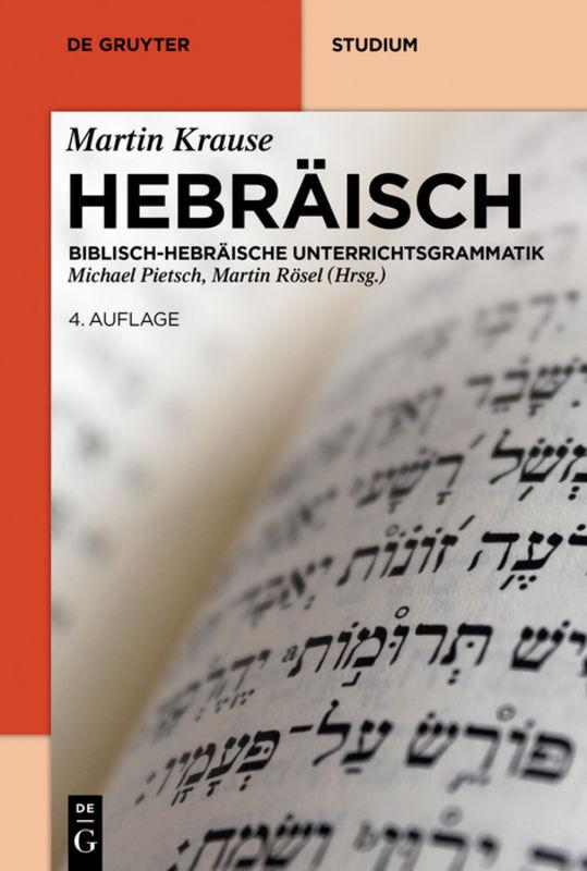 Hebräisch als Buch