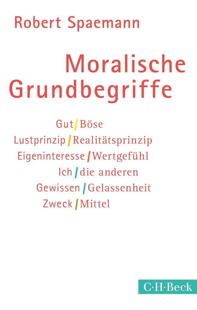 Moralische Grundbegriffe als eBook