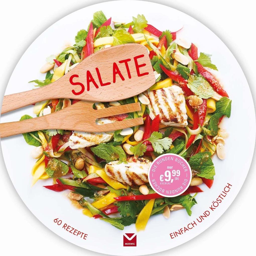 Die runden Bücher: Salate als Buch