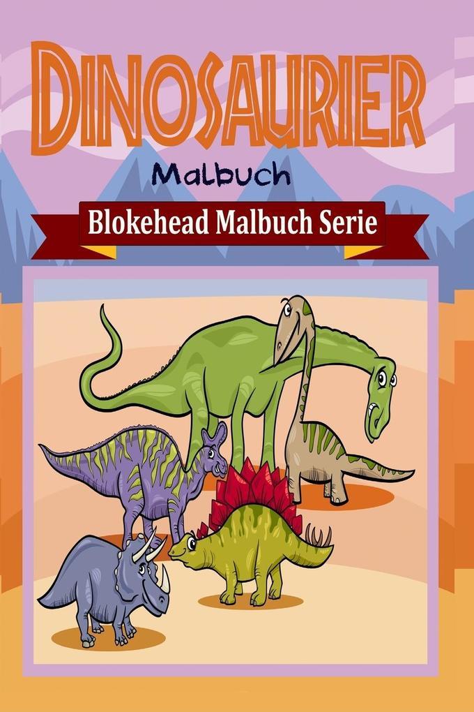 Dinosaurier Malbuch als Buch (gebunden)
