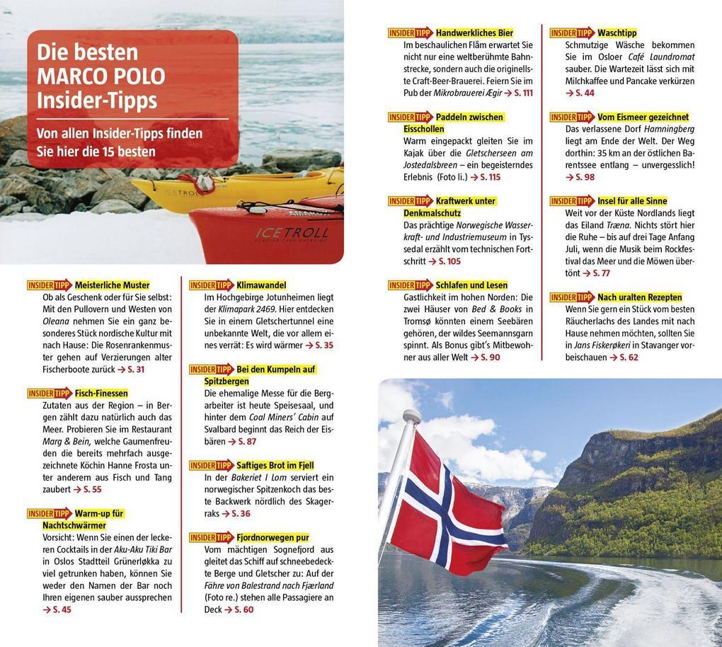 MARCO POLO Reiseführer Norwegen (Buch), Jens-Uwe Kumpch, Julia Fellinger