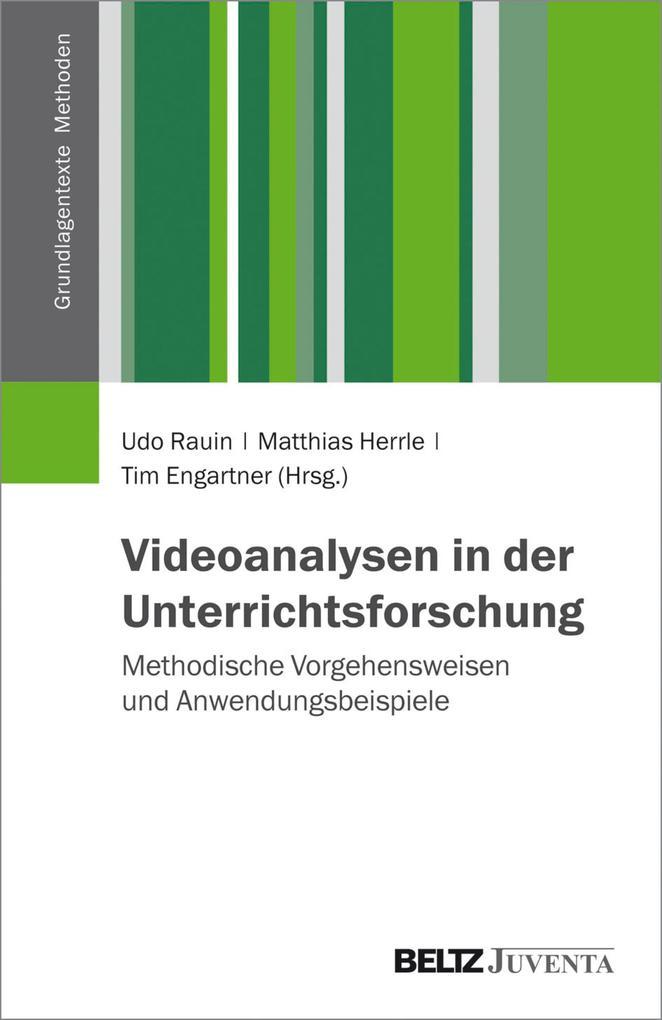 Videoanalysen in der Unterrichtsforschung als eBook