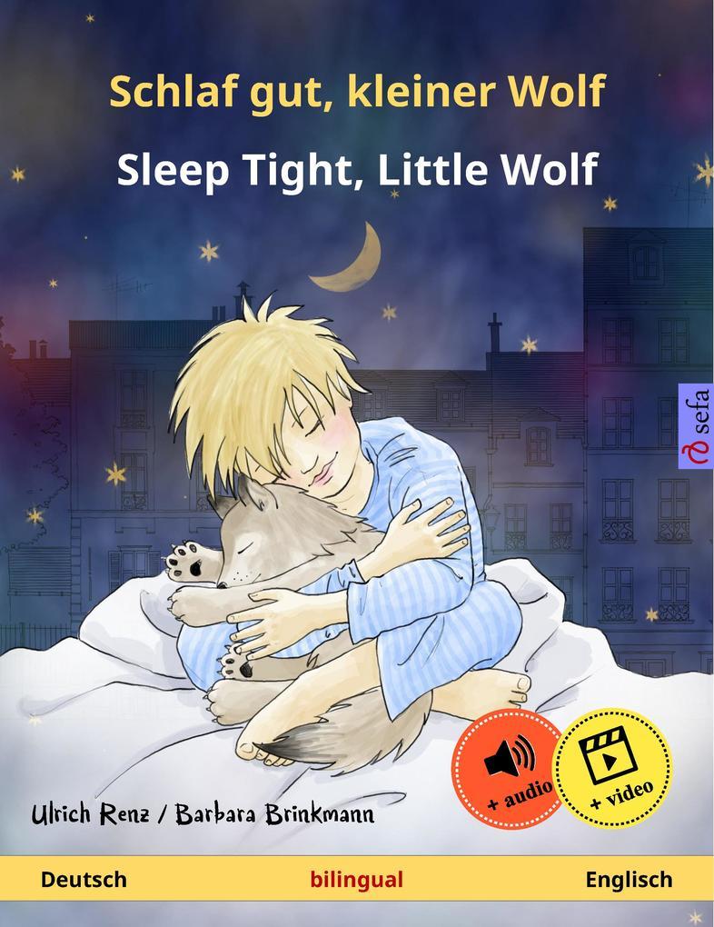 Schlaf gut, kleiner Wolf - Sleep Tight, Little Wolf (Deutsch - Englisch) als eBook