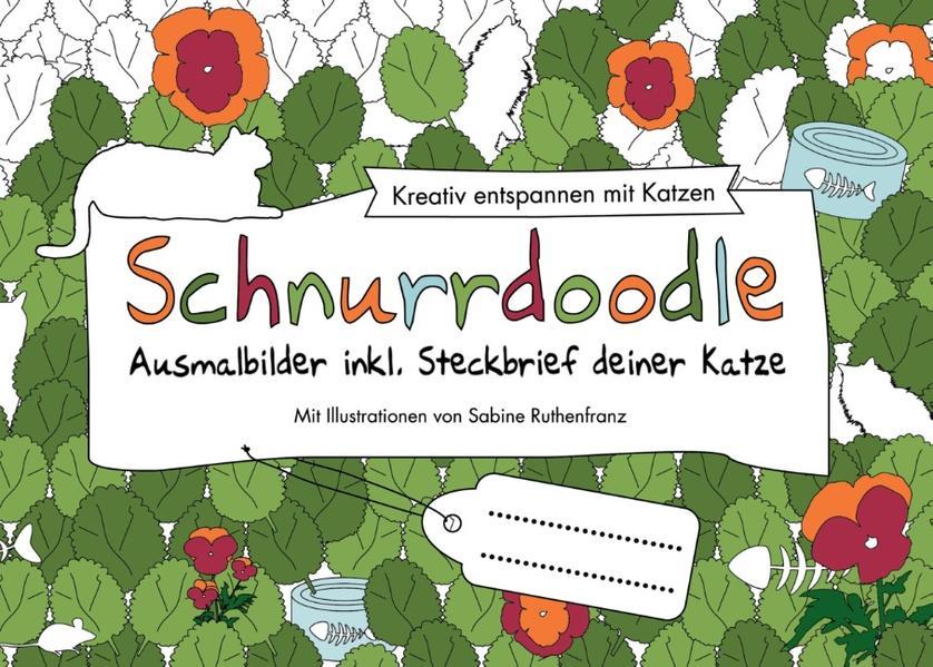 Schnurrdoodle Ausmalbilder Inkl Steckbrief Deiner Katze Buch