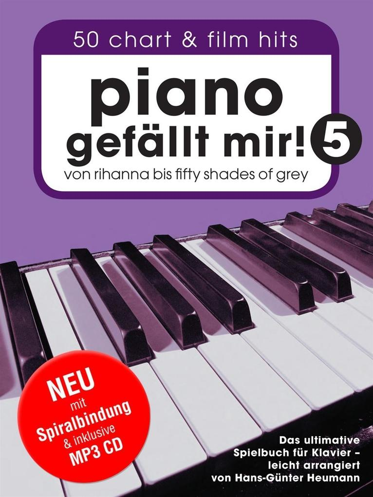 Piano Gefällt Mir! - Book 5 (Book/CD)