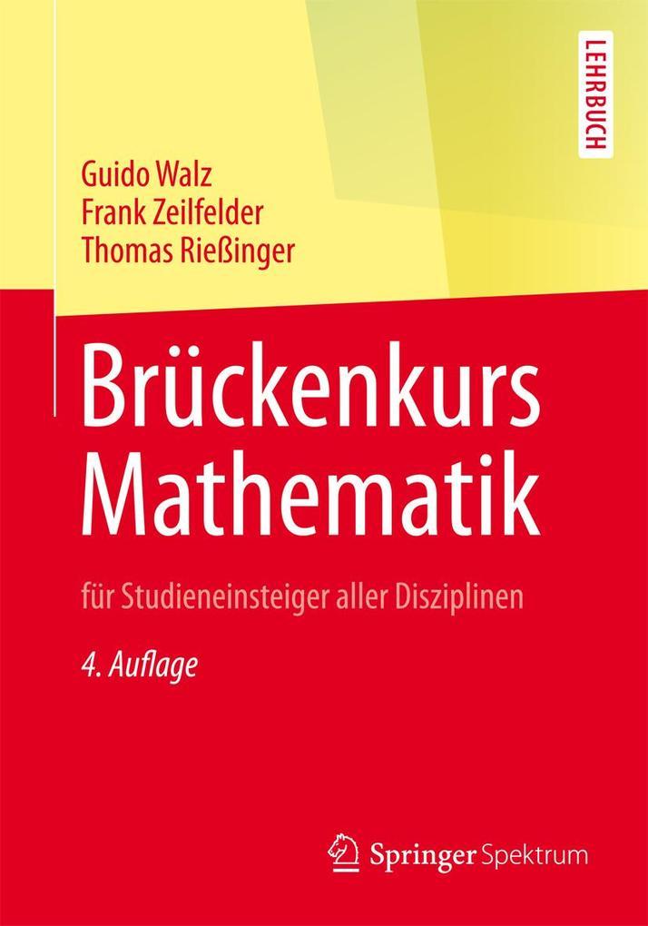 Brückenkurs Mathematik als eBook