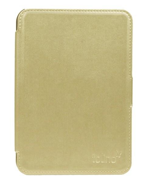 tolino shine 2 HD Slimfit Tasche - Metallic Gold