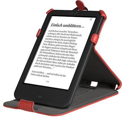 tolino Shine 2 HD Tasche Standfunktion Rot als Hardware