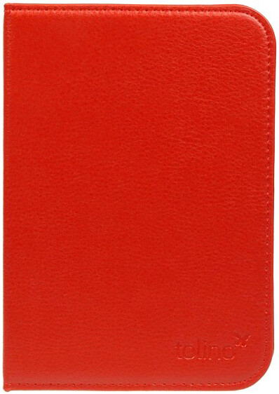tolino vision Schutztasche in Lederoptik Rot