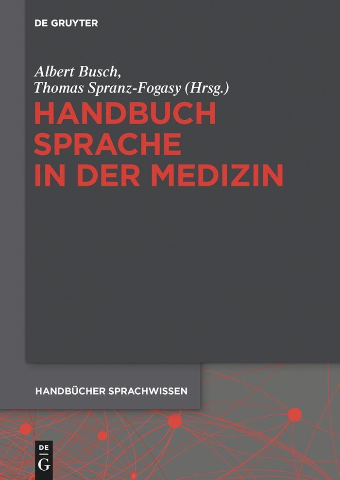 Handbuch Sprache in der Medizin als eBook pdf