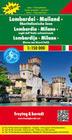 Lombardei - Mailand - Oberitalienische Seen 1 : 150.000 Autokarte