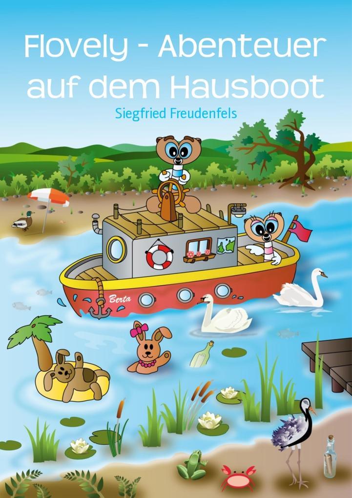 Flovely - Abenteuer auf dem Hausboot als eBook epub