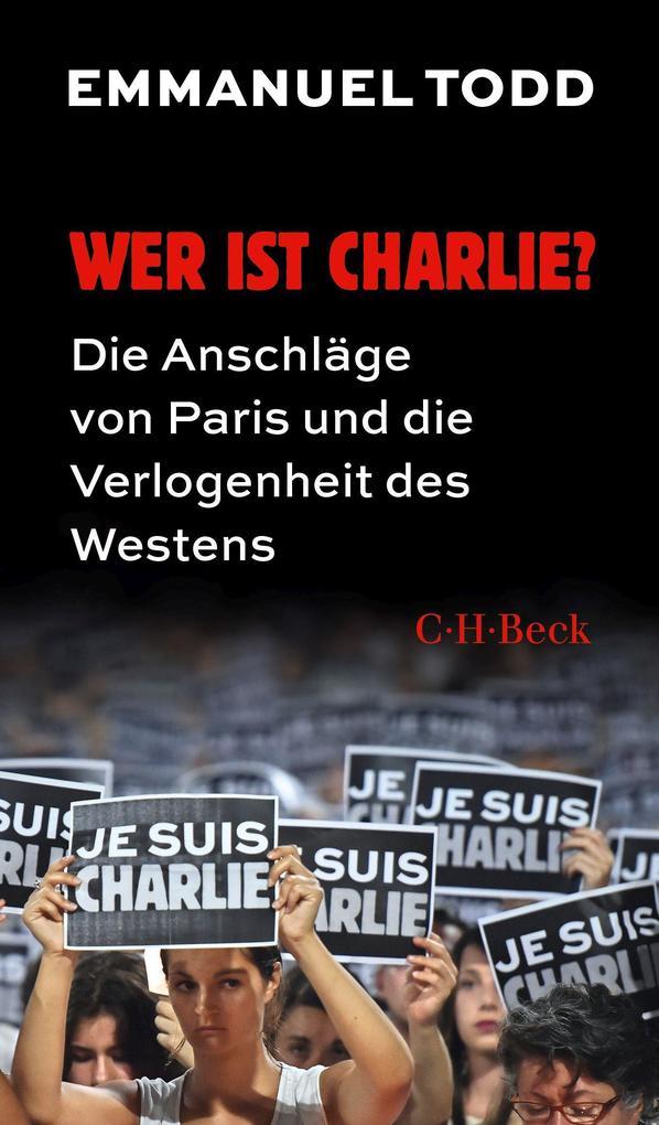 Wer ist Charlie? als Buch