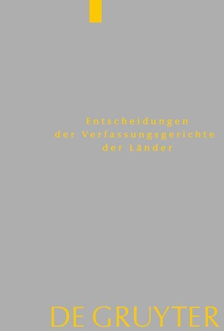 Baden-Württemberg, Berlin, Brandenburg, Bremen, Hamburg, Hessen, Mecklenburg-Vorpommern, Niedersachsen, Saarland, Sachsen, Sachsen-Anhalt, Schleswig-Holstein, Thüringen als eBook