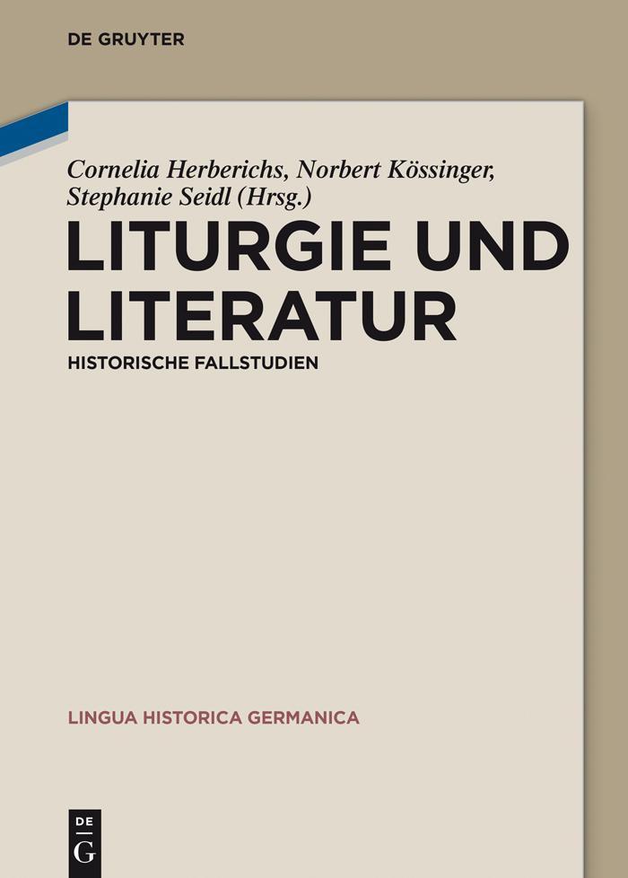 Liturgie und Literatur als eBook